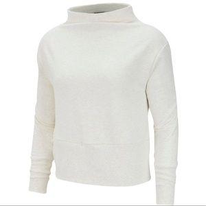 Women's White Nike Versa Training Pullover